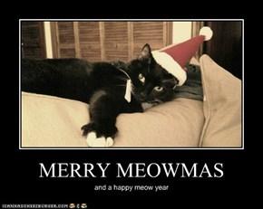 MERRY MEOWMAS