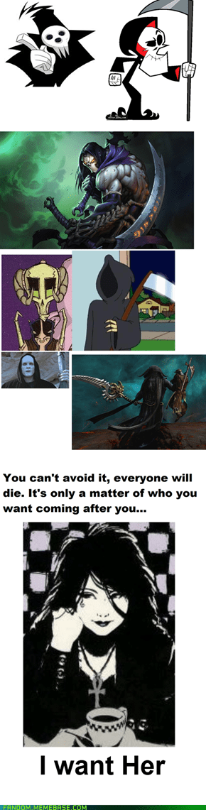 Death is pretty