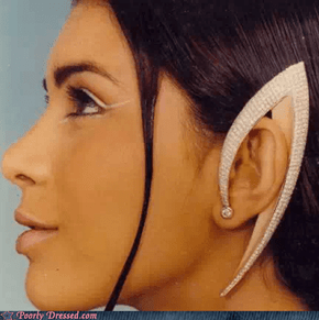 Spock Ear Earrings