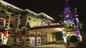 Turn In At Hotel LEGO!
