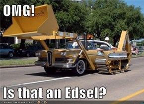 OMG!  Is that an Edsel?