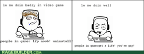 whenever I play games