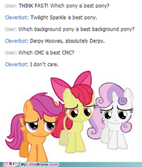 Cleverbot is a CMC Hater