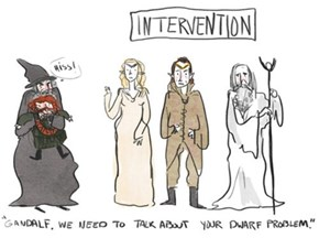 Gandalf, We're Here Because We Love You and We Want to Help You
