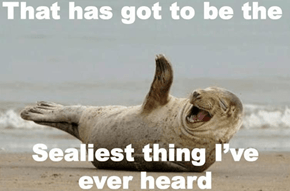 I'm Fin-ished With These Stupid Animal Puns!