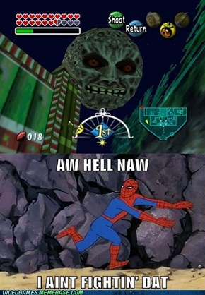 spiderman is in big trouble