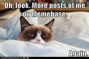 Oh, look. More posts of me on Memebase.  Again.
