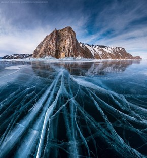 Cracking the Ice in Lake Baikal