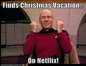 Finds Christmas Vacation...  On Netflix!