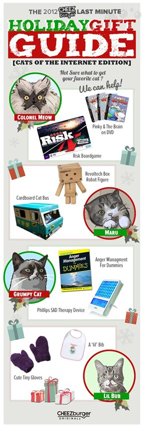 Holiday Gift Guide: Cats of the Internet Edition