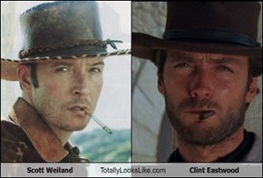 Scott Weiland  Totally Looks Like Clint Eastwood