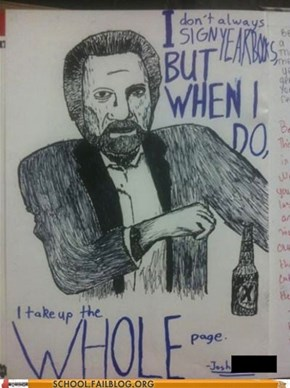 The Most Interesting Student in the World