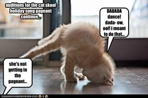 cat skool pageant FAILED