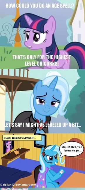 The Great Hardcore Leveling Trixie