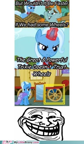 Trixie On Wheels
