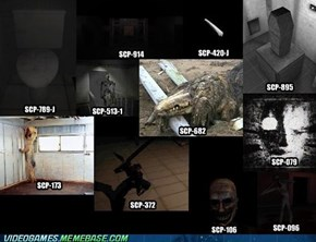 All SCPs acting now in SCP: Containment Breach