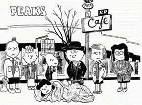 """Charles Shulz's """"Twin Peaks"""""""
