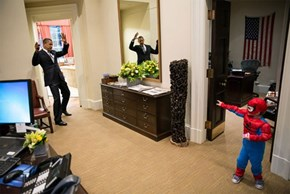 Presidential Photo Op of the Day