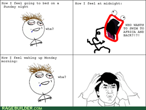 Sleep RAGE!