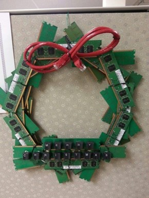 The IT Guys Are Getting Into the Christmas Spirit