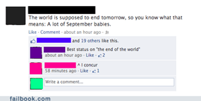 The End of the World... If You Know What I Mean