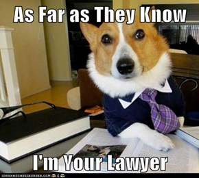 As Far as They Know  I'm Your Lawyer