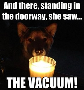 Scary Story Dog Tells a Scary Story