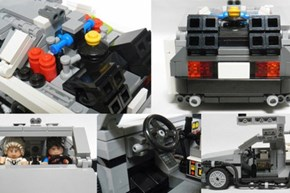 Back to the Future LEGO Set WIN