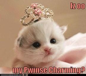 Iz oo  my Pwinse Charming?