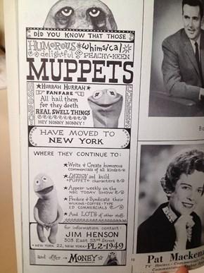 Muppets Circa 1963