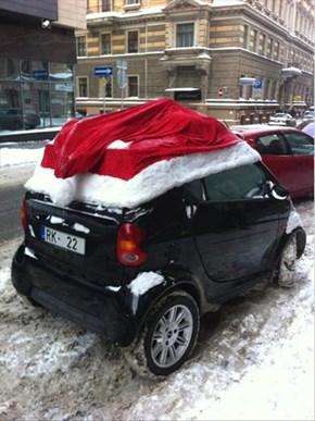 You Think Santa Still Rides in a Sleigh?