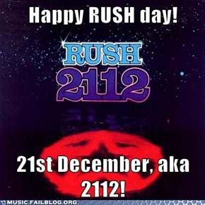 Happy Rush Day!