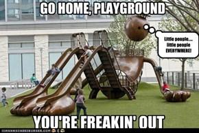 Gulliver's Playground?