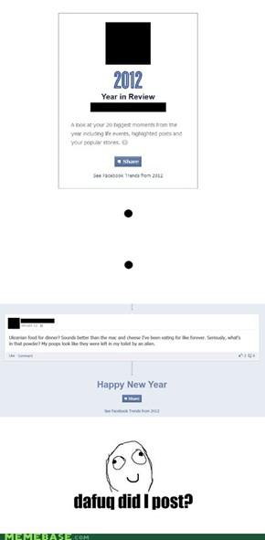 Facebook gets me!