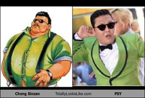 Cheng Sinzan Totally Looks Like PSY
