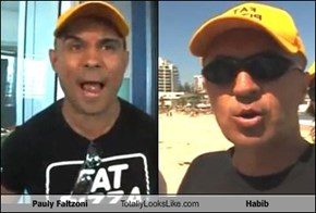 Pauly Faltzoni Totally Looks Like Habib