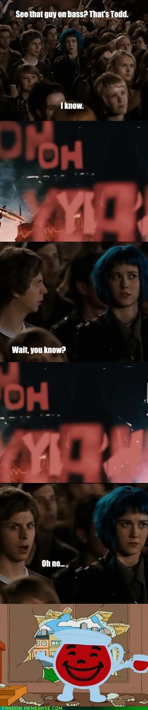 Scott Pilgrim vs. The Kool-Aid Man