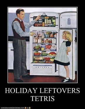 HOLIDAY LEFTOVERS TETRIS