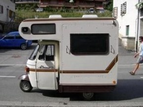 Cushman's most unlikely entry into the camper market