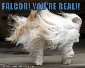 FALCOR! YOU'RE REAL!!