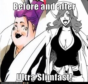 Before and after  Ultra Slimfast!