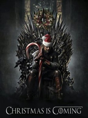 Happy Holidays from Winterfell!