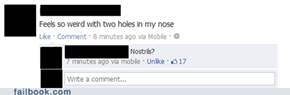 Nose Piercing FAIL