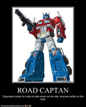 ROAD CAPTAN