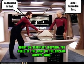 Jeopardy:  Picard vs Riker