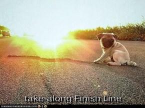take-along Finish Line