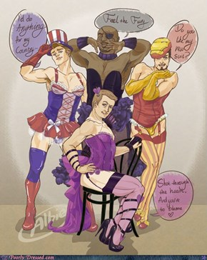 Avengers Assemble! For Sexyness!