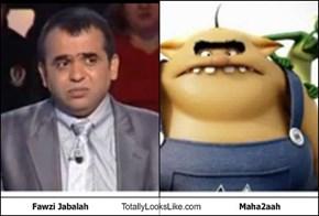 Fawzi Jabalah Totally Looks Like Maha2aah