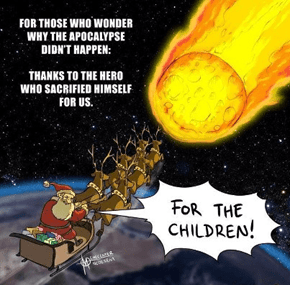 Never Forget Santa's Glorious Sacrifice