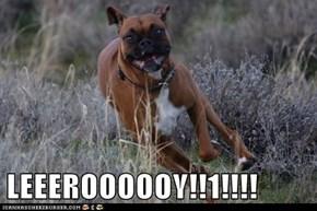 LEEEROOOOOY!!1!!!!
